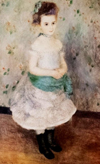 Jeanne Durand-Ruel 1876 Limited Edition Print by Pierre Auguste Renoir