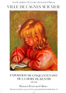Vintage Renoir Exhibition Poster, Jane 1969 Limited Edition Print - Pierre Auguste Renoir