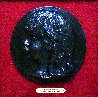 Medallion De Coco 1906, Casting 1989 Relief Bronze Sculpture 8 in Sculpture by Pierre Auguste Renoir - 2