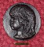 Medallion De Coco 1906, Casting 1989 Relief Bronze Sculpture 8 in Sculpture by Pierre Auguste Renoir - 0