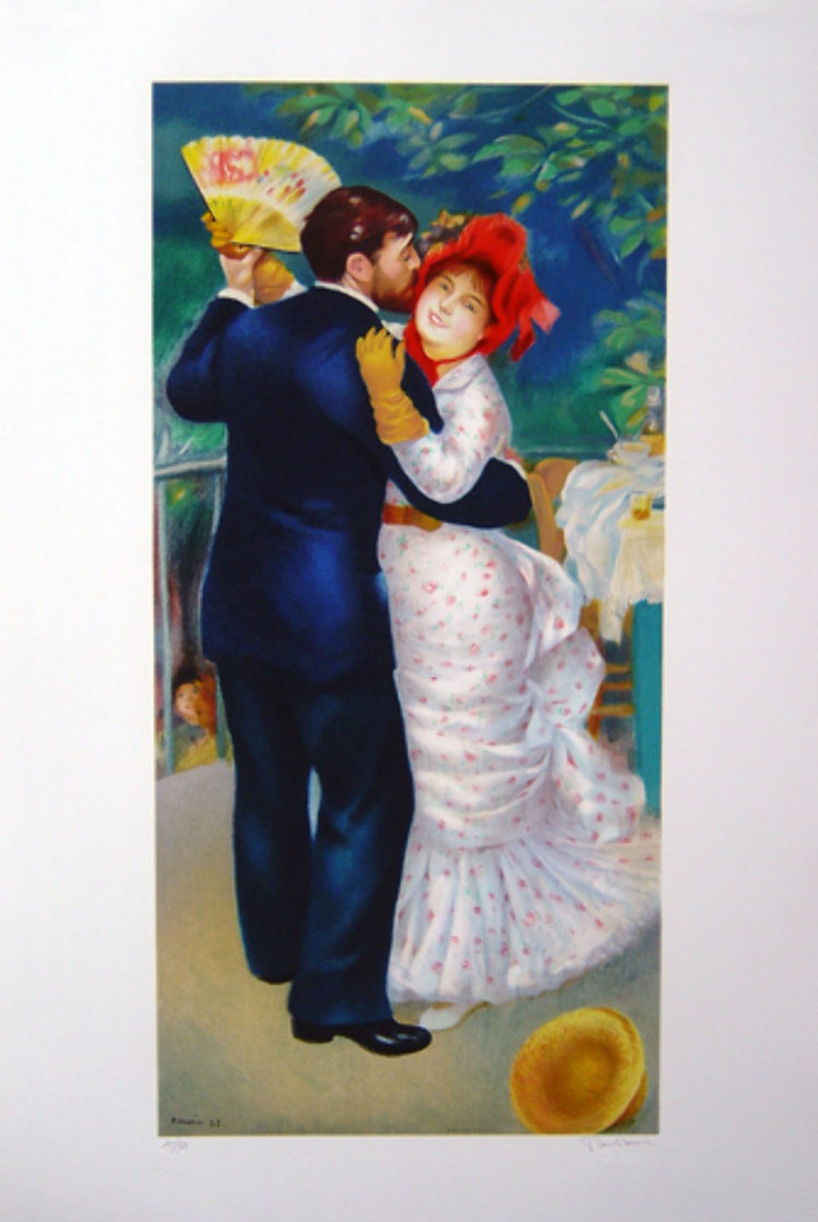 Dance in the Country 1993 Limited Edition Print by Pierre Auguste Renoir