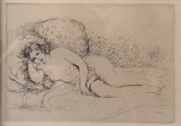 Femme Nu En Couchee Limited Edition Print by Pierre Auguste Renoir