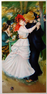 La Danse a Bougival (Dance At Bougival) Limited Edition Print - Pierre Auguste Renoir