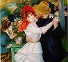 La Danse a Bougival (Dance At Bougival) Limited Edition Print by Pierre Auguste Renoir - 1