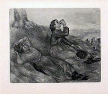 La Fenaison Limited Edition Print - Pierre Auguste Renoir