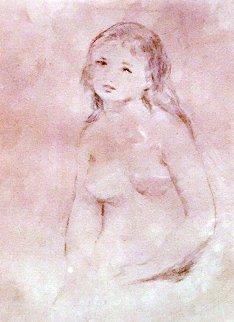 Etude Pour Un Baigneuse 1906 Limited Edition Print - Pierre Auguste Renoir