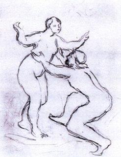 Le Fleuve Scamandre c.1900 Limited Edition Print - Pierre Auguste Renoir