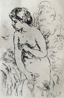 Baigneuse Debout, a Mi-Jambes 1910 Limited Edition Print - Pierre Auguste Renoir
