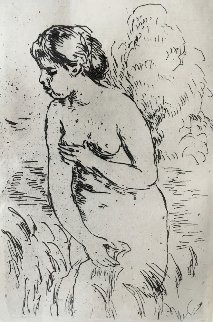 Baigneuse Debout, a Mi-Jambes 1910 Limited Edition Print by Pierre Auguste Renoir