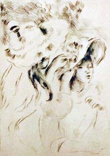 Le Chapeau Epingle Limited Edition Print by Pierre Auguste Renoir