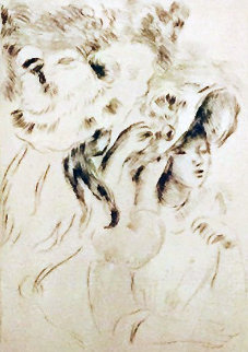 Le Chapeau Epingle Limited Edition Print - Pierre Auguste Renoir