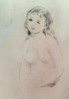 Etude Pour Une Baigneuse 1906 Limited Edition Print - Pierre Auguste Renoir