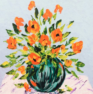 Vase Floral 2014  Original Painting - Alexandre Renoir