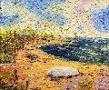 Jersey Shore  Original Painting - Alexandre Renoir