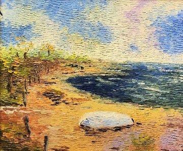 Jersey Shore 31x35 Original Painting - Alexandre Renoir