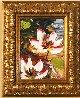 Lotus 2010 18x15 Original Painting by Alexandre Renoir - 6