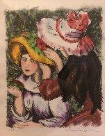 Les Jeunes Filles Au Chapeaux 2000 Limited Edition Print by Alexandre Renoir - 5