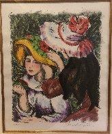 Les Jeunes Filles Au Chapeaux 2000 Limited Edition Print by Alexandre Renoir - 4