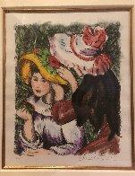 Les Jeunes Filles Au Chapeaux 2000 Limited Edition Print by Alexandre Renoir - 2