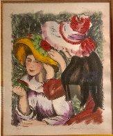 Les Jeunes Filles Au Chapeaux 2000 Limited Edition Print by Alexandre Renoir - 3
