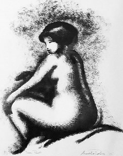 Nu Sepia  TP 2005 Limited Edition Print by Alexandre Renoir