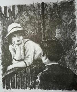 Conversation 2005 Limited Edition Print - Alexandre Renoir