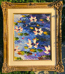 Lily Pad 2010 Original Painting - Alexandre Renoir