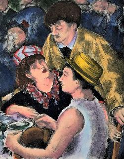 Les Trois Amis 2005 Limited Edition Print - Alexandre Renoir
