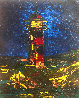 Lighthouse 2010 24x20 Original Painting by Alexandre Renoir - 0