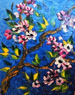 Untitled Painting 2012 30x24 Original Painting - Alexandre Renoir