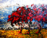 Red Trees 2012 24x30 Original Painting by Alexandre Renoir - 0