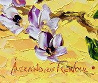 Spring Bloom Original 2020 30x24 Original Painting by Alexandre Renoir - 6