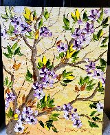 Spring Bloom Original 2020 30x24 Original Painting by Alexandre Renoir - 1