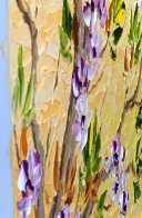 Spring Bloom Original 2020 30x24 Original Painting by Alexandre Renoir - 5