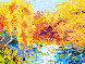 Peaceful Pond Series 2011 28x33 Original Painting by Alexandre Renoir - 0