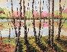 River Landscape 2009 33x39 Original Painting by Alexandre Renoir - 0