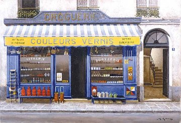 Le Marchand De Couleurs 1994 Limited Edition Print - Andre Renoux