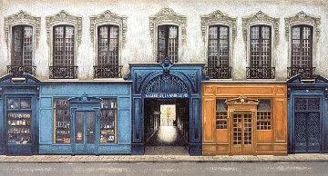 Passage De La Madeleine 1994 Limited Edition Print - Andre Renoux