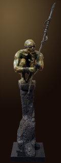 Precipice Bronze Sculpture AP 2012 51 in Sculpture by Larry Renzo Lewis