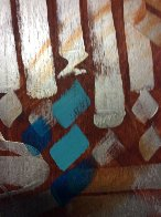 Untitled Early Painting 2000 96x51 Super Huge Original Painting by  RETNA - 2