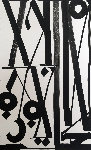 Double Stacks  2014 42x30 Works on Paper (not prints) -  RETNA