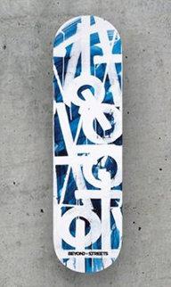 Retna X BTS Skate Deck 4 Sculpture by  RETNA