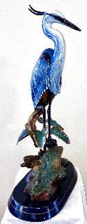 Without the Frog Bronze Sculpture 2004 35 in Sculpture - Steve Retzlaff