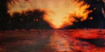 Path Not Taken 2006 30x60 Original Painting - Carolyn Reynolds
