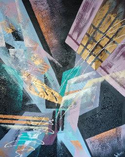 Untitled Painting 60x48 Super Huge Original Painting - James Reynolds