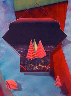 Mystical Equilibrium #19 41x30 Works on Paper (not prints) by Shahrokh Rezvani