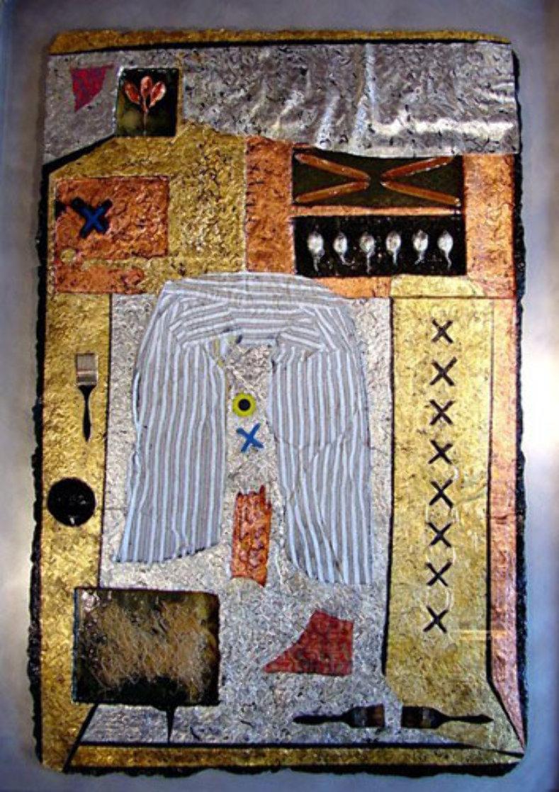 Mystical Remnants #1 65x43 Super Huge Original Painting by Shahrokh Rezvani