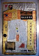Mystical Remnants #1 65x43 Super Huge Original Painting by Shahrokh Rezvani - 0