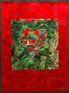 Winter Heart Original Painting by Shahrokh Rezvani