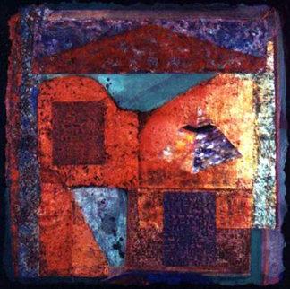 Mystical Passage #1 1995 55x55 Original Painting by Shahrokh Rezvani